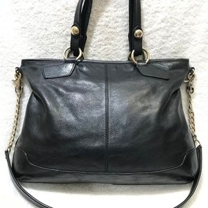 DKNY LAREGE Satchel Bag w/Gold Chain/Hardware